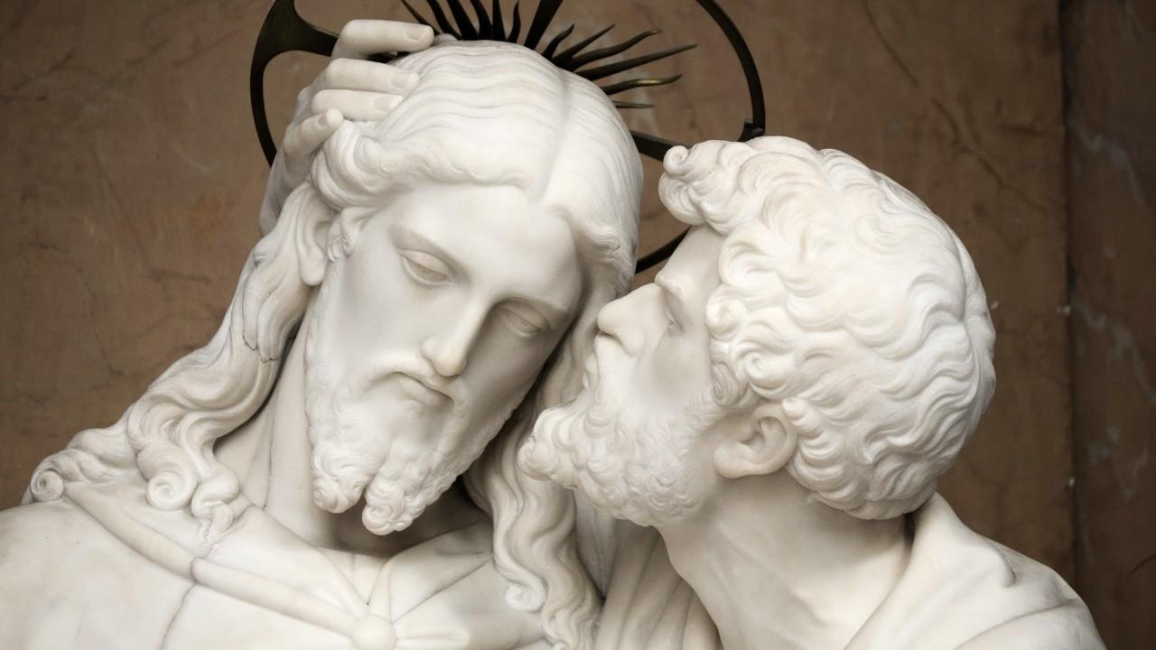 Jésus prend le repas de la pâque