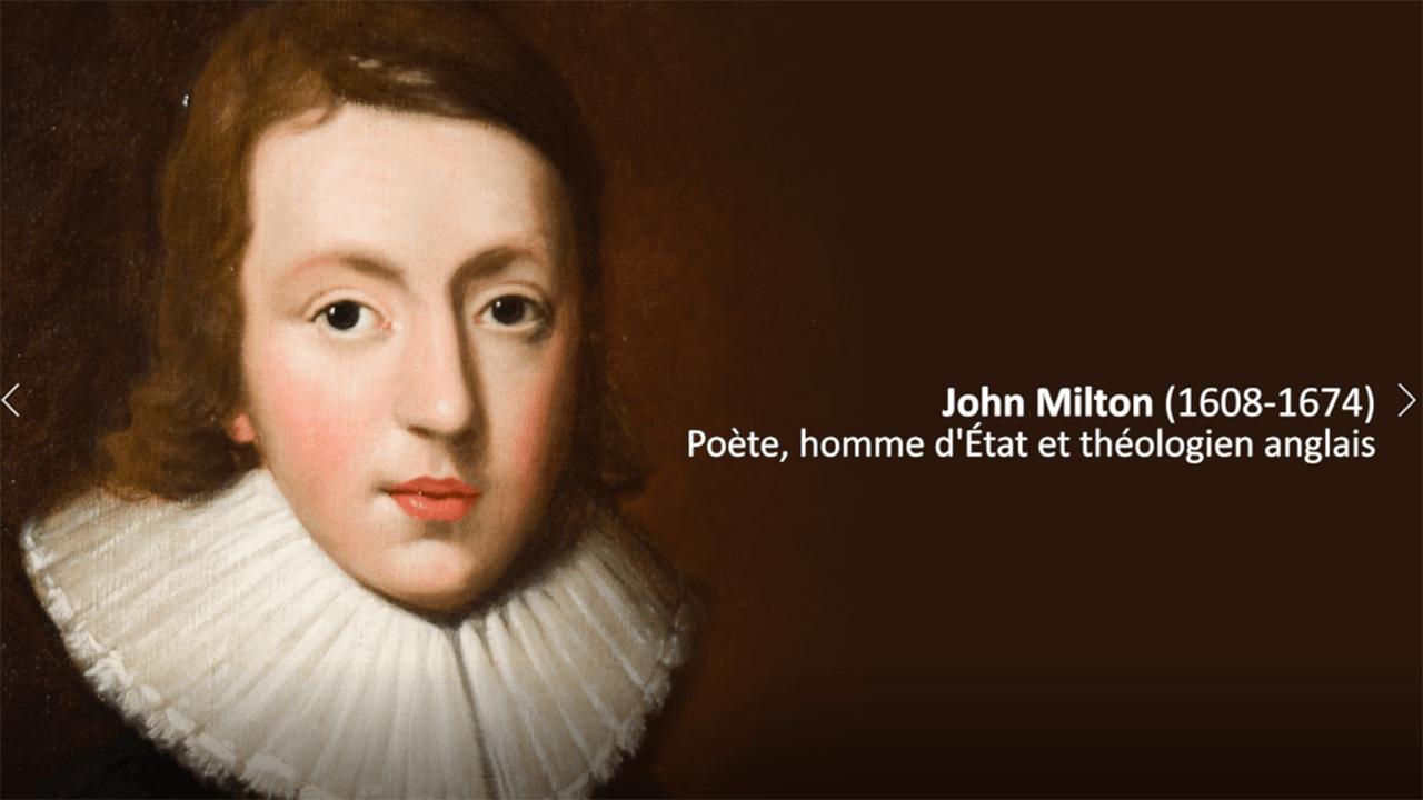 John Milton, apôtre de la liberté et de l'émancipation