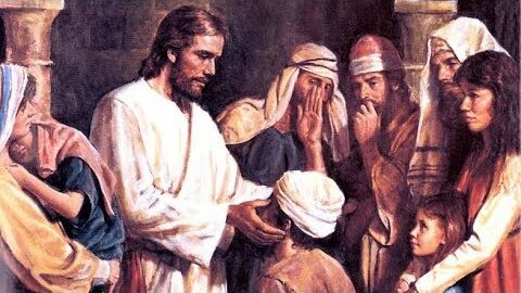 Jésus guérit un sourd-muet