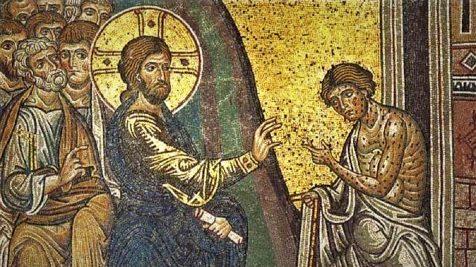 Jésus guérit dix lépreux