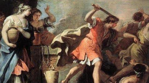 Moïse et le triangle dramatique