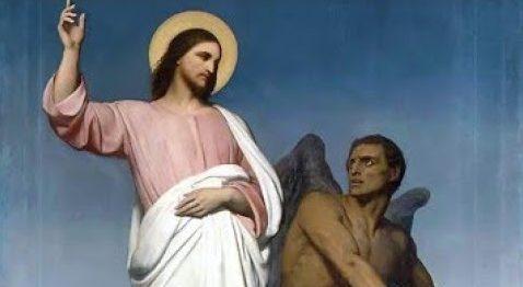 Jésus tenté par le diable