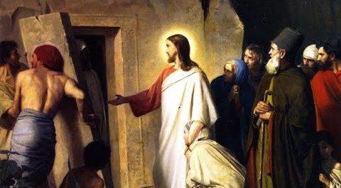 Jésus et son ami Lazare