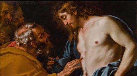 apparition de Jésus après sa résurrection