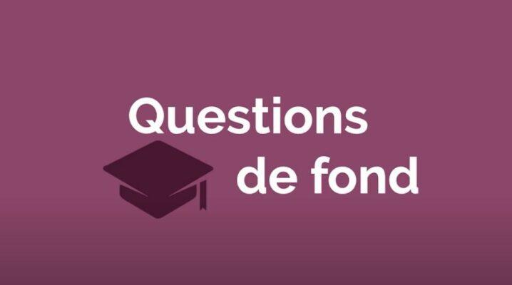Questions de fond 2