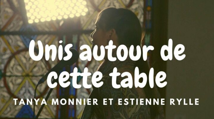 Tanya Monnier et Estienne Rylle interprètent « Unis autour de cette table »