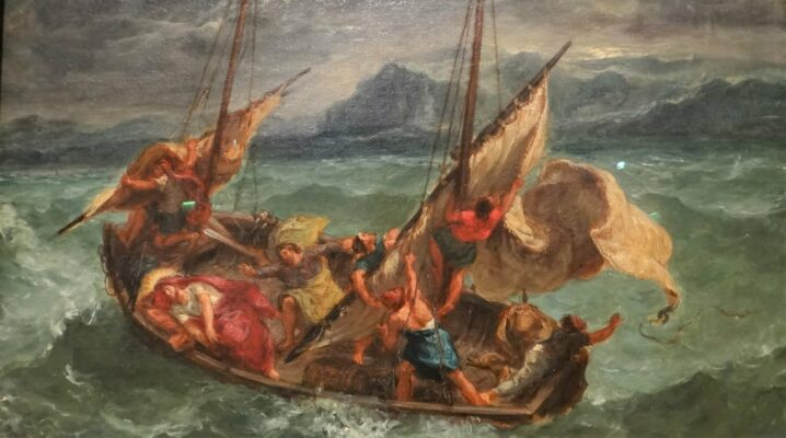 Jésus apaise une tempête